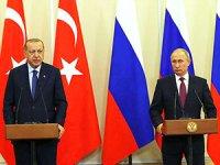 Erdoğan ve Putin İdlib'de silahsız bölge için uzlaştı