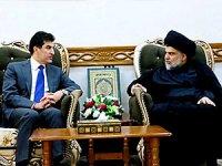 Neçirvan Barzani Necef'te Sadr ile görüştü