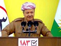 Mesud Barzani: Geleceğe yürüyün ve asla boyun eğmeyin!