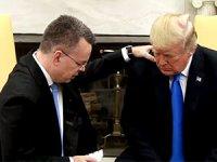 Trump, Brunson'ı Beyaz Saray'da ağırladı