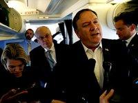 Pompeo: 'Türkler'in, İran'dan daha az petrol almasını isteriz'