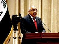 Abdulmehdi: İstifa etmeyeceğim