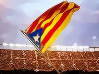 Katalanlardan İspanya'ya 'referandum' şartı