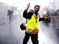 Fransa'daki 'Sarı Yelekliler' protestolarına müdahale