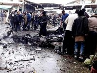 Afrin'de pazar yerinde patlama: En az 5 ölü