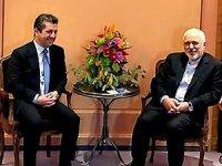 Mesrur Barzani, Cevat Zarif ile görüştü