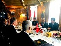 Mesrur Barzani, Hulusi Akar ile görüştü