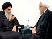 Ruhani, Iraklı Şii lider Sistani ile görüştü