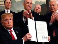 Trump, Golan'da İsrail egemenliğini tanıyan imzayı attı