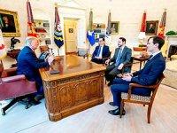 Berat Albayrak, Beyaz Saray'da Trump'la görüştü