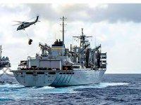 ABD'nin körfezdeki gemileri provaya başladı