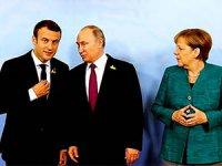 Putin, Merkel ve Macron ile Suriye, Ukrayna ve İran'ı görüştü