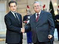 Irak Cumhurbaşkanı Talabani Paris'te