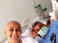 Haluk Levent'ten lösemi hastası baba kıza ziyaret