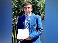Kürt öğrenci İskoçya genelinde yapılan sınavda birinci oldu
