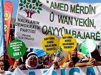Barış Günü mitinglerinde kayyumlar protesto edildi