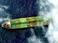 Kara listeye alınan İran tankeri Suriye açıklarında