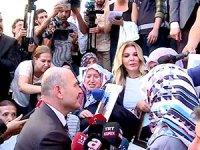 İçişleri Bakanı Soylu da HDP Diyarbakır İl Binası önüne gitti