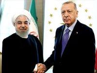 Üçlü zirve öncesi Erdoğan ile Ruhani görüşmesi başladı