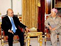 Mesud Barzani, Irak Cumhurbaşkanı ile görüştü