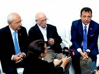 Kılıçdaroğlu ve İmamoğlu yaralı itfaiye erini ziyaret etti