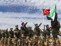 Koalisyon güçleri çekildi, ÖSO ağır silahlar ve roketlerle tatbikat yaptı