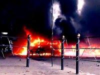Kamışlo'da büyük patlama: Ölü ve yaralılar var