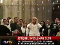 Ezandan etkilendi, Müslüman oldu Video