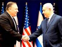 Ankara'dan Tel Aviv'e giden Pompeo, Netanyahu ile görüştü
