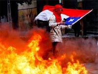 Şili'de 1 milyondan fazla kişi sokağa çıktı