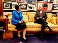 Bayan Sami Abdurrahman, Senatör Graham ile görüştü