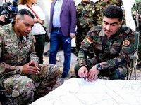 Koalisyon heyeti Peşmerge Güçlerini ziyaret etti