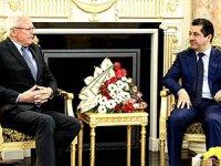 Mesrur Barzani, James Jeffrey ile görüştü