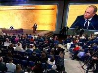 Putin, yıl sonu basın toplantısında soruları yanıtladı