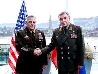 ABD ve Rusya genelkurmay başkanları ilk kez yüz yüze görüştü