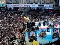 Süleymani'nin cenaze töreninde izdiham: En az 35 ölü