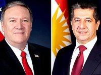 Mesrur Barzani ve Pompeo Irak'taki son durumu görüştü