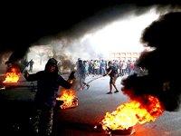 Bağdat'taki gösterilerde yine kan aktı: Ölü ve yaralılar var