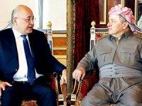 Mesud Barzani, Berhem Salih'i kabul etti