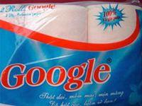 Google tuvalet kağıdı oldu!