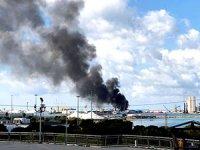 Hafter: Silah dolu bir Türk gemisini vurduk