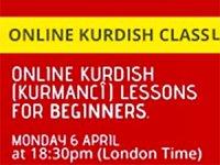 Online Kürtçe dersler başlıyor
