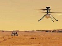 Mars semalarında ilk kez helikopter uçurulacak