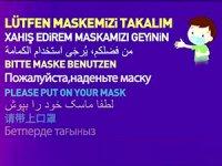 Belediyeden 10 dilde 'maske' uyarısı: Kürtçe'ye yer verilmedi