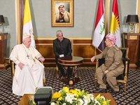 Papa Francis Hewler'de: Kürdistan'ı unutmadım