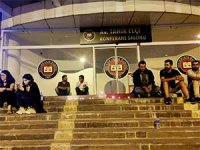 Diyarbakır Barosu'ndan ırkçı saldırıya karşı oturma eylemi