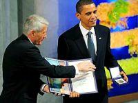 Obama, Nobel Barış Ödülünü aldı
