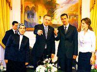 40 günlük yası Erdoğan için bozdular
