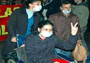 Zere Taksim'de eylemde!